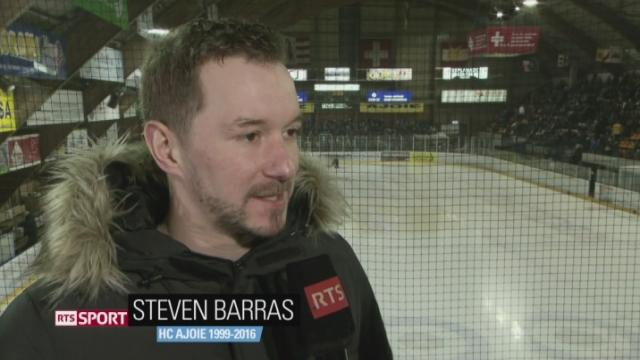 Hockey- LNB: le HC Ajoie est le troisième club romand en position de se qualifier pour les play-offs [RTS]
