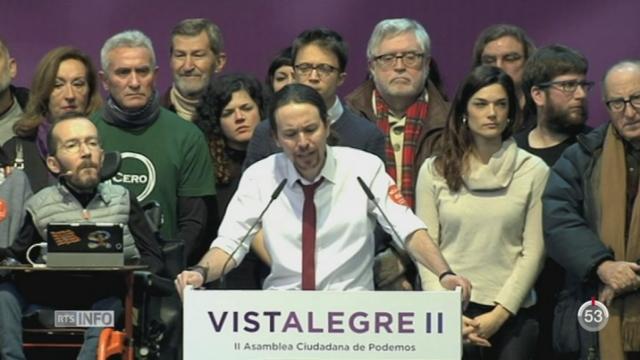 En Espagne, le parti Podemos est tiraillé entre ses deux leaders [RTS]