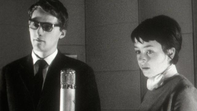 Yvette Théraulaz élève à l'Ecole romande d'art dramatique, 1962. [RTS]