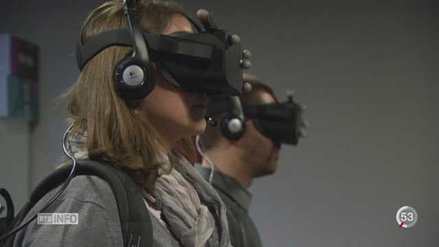 Réalité virtuelle: une start-up genevoise à l'assaut d'Hollywood