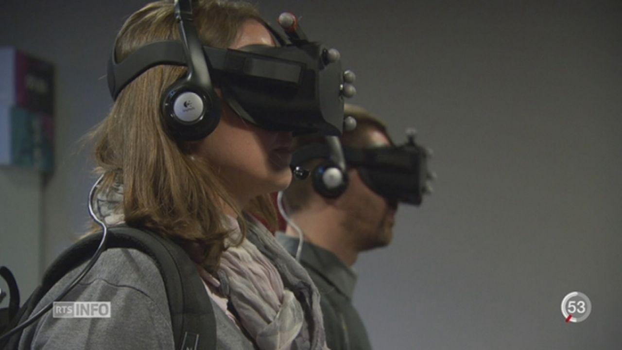 Réalité virtuelle: une start-up genevoise à l'assaut d'Hollywood [RTS]