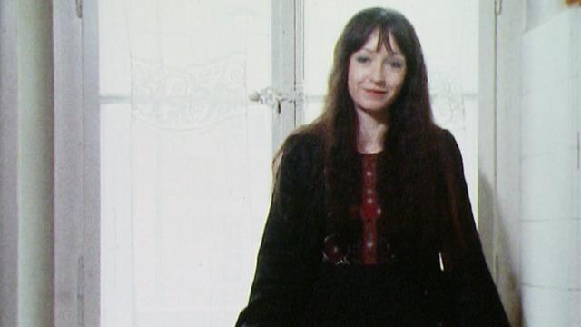 La chanteuse et comédienne Yvette Théraulaz en 1976. [RTS]