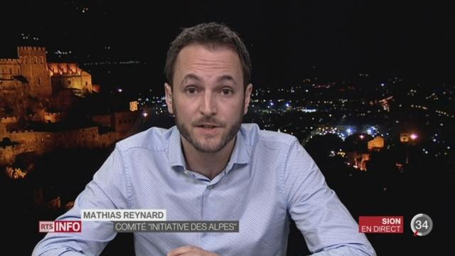 Camiongate: entretien avec Mathias Reynard à Sion [RTS]