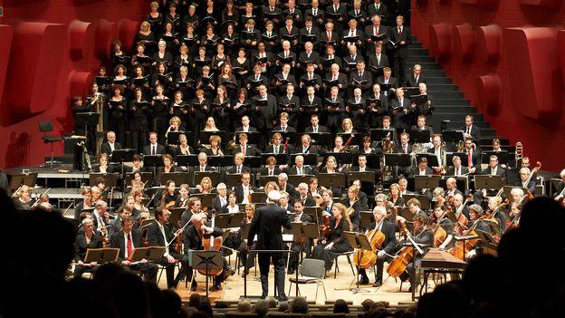 Concert du choeur de la Radio néerlandaise, différé du 07.10.16 à Utrecht