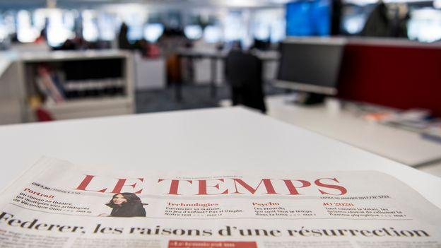 Trente-six postes supprimés dans la rédaction du journal Le Temps