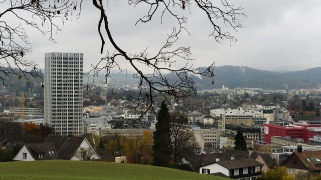 Une vue de la ville de Winterthour, dans le canton de Zurich. [Steffen Schmidt - Keystone]