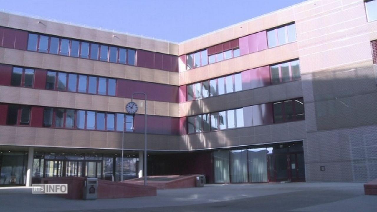 Inauguration officielle du gymnase de Renens [RTS]