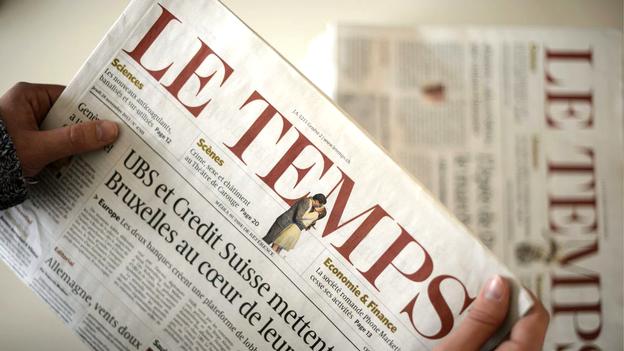 Quel avenir pour le journal Le Temps?