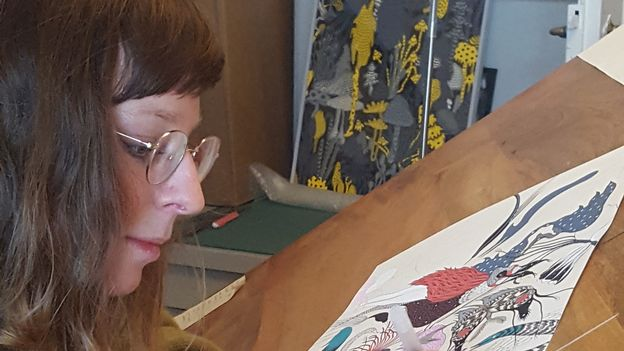 Reportage découverte: Anaëlle Clot, artiste nature