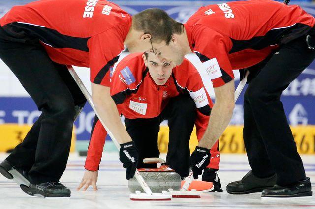 Emmenée par Peter De Cruz (au centre), la formation genevoise défendra pour la 2e fois les couleurs de la Suisse aux Mondiaux. [Alexander F. Yuan - Keystone]