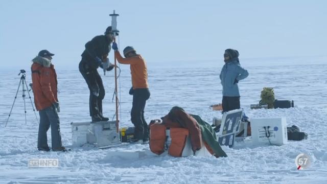 Antarctique: périple scientifique au coeur de la banquise [RTS]