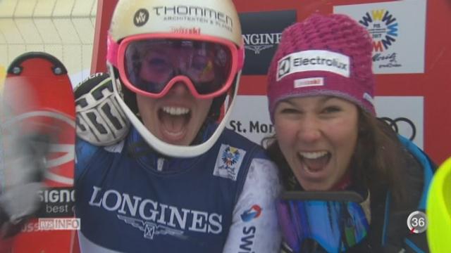 Mondiaux de ski à St Moritz - Suisses au-delà des espérances [RTS]