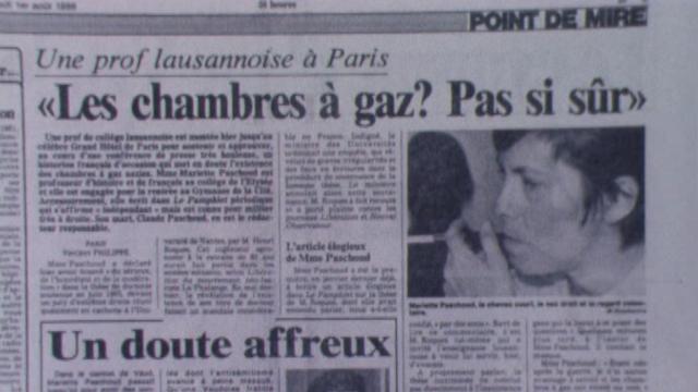 Article du 24 heures du 1er août 1987. [RTS]