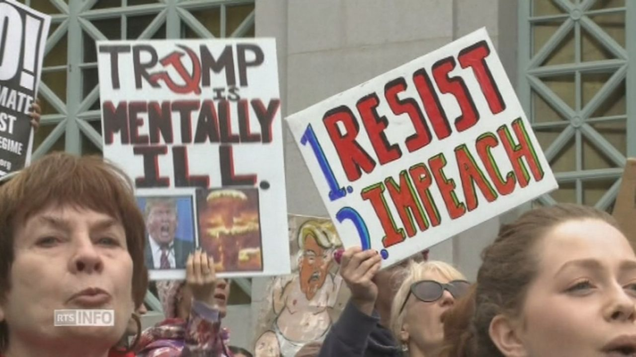 Rassemblements anti-Trump [RTS]