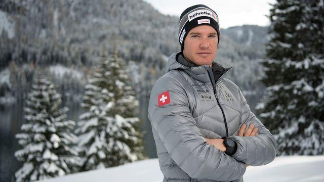 Diminué, Dario Cologna portera tous les espoirs suisses de médaille, ou presque, en Finlande. [Gian Ehrenzeller - Keystone]