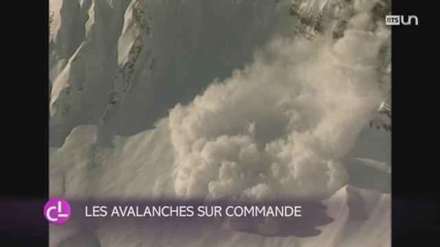 VS: des scientifiques étudient les avalanches dans un laboratoire dans le vallon d'Arbaz [RTS]