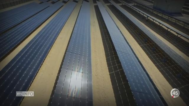 Production, stockage d'électricité: le solaire met le pétrole sous pression [RTS]