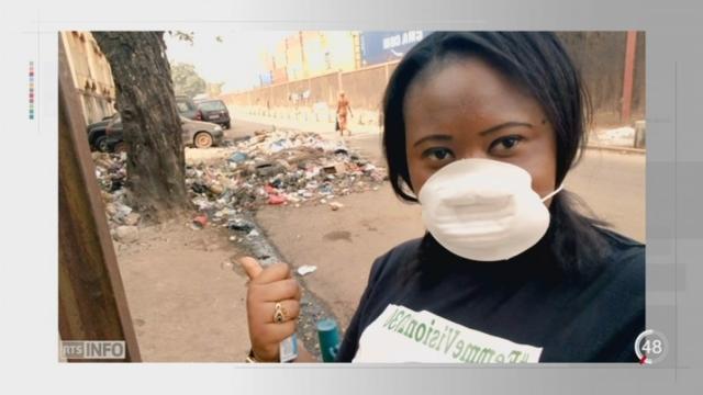 Guinée: le selfie-déchets pour lutter contre les ordures [RTS]