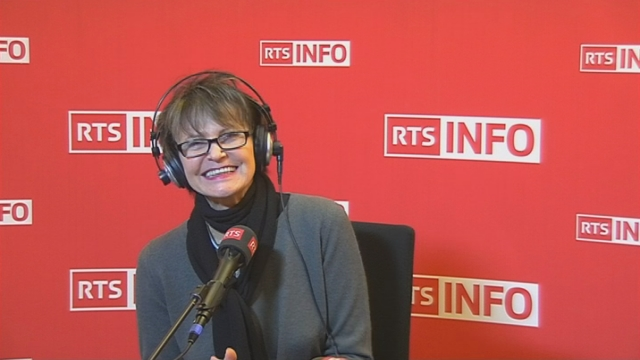 L'invité de la rédaction - Micheline Calmy-Rey [RTS]