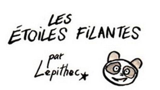 Les étoiles filantes, une planche BD de Lepitech [Lepitech - lepithec.blogspot.ch]