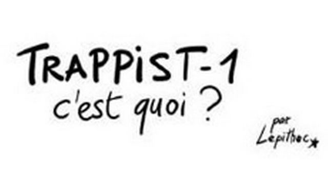 Trappist-1, une planche BD de Lepitech [Lepitech - lepithec.blogspot.ch]