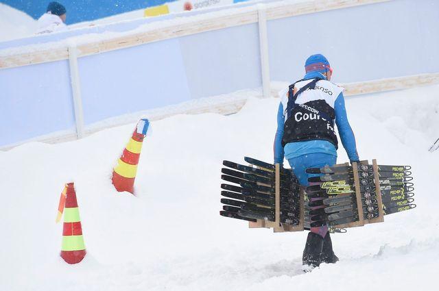 Les championnats du monde de ski nordique débute ce jeudi à Lahti, en Finlande. [Keystone]