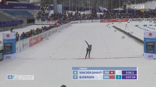Lahti (FIN), Qualifications dames : Laurien Van Der Graaf [RTS]