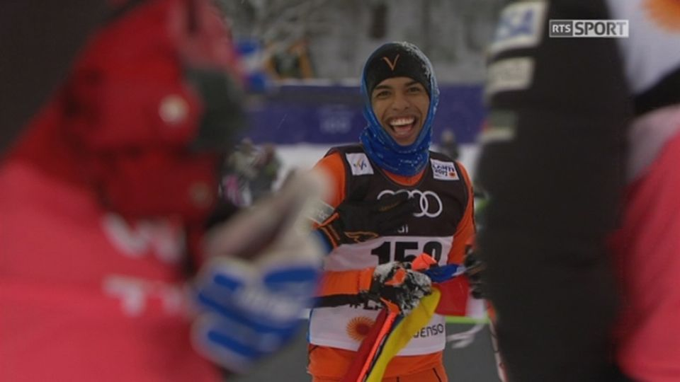 Mondiaux de Lahti (FIN): Adrian Solano (VEN) arrive enfin après un long calvaire [RTS]