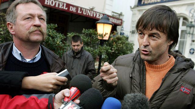 José Bové et Nicolas Hulot ont accepté de participer à l'étude. [DAVID ADEMAS]