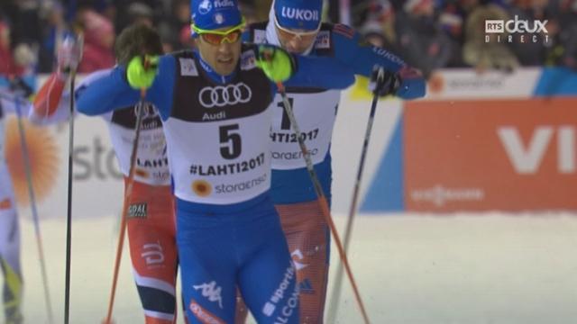 Mondiaux de Lahti (FIN): fond, 1-2 sprint messieurs: Jovian Hediger 6e et éliminé [RTS]