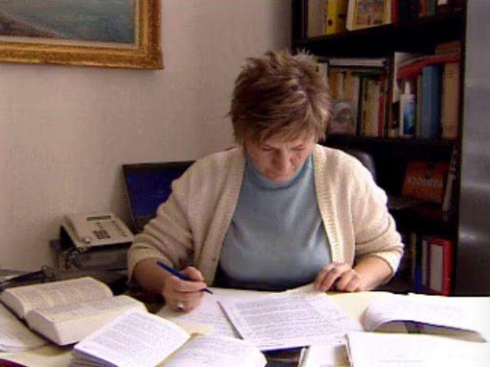 L'avocate maître Joanna Bürgisser au travail. [RTS]