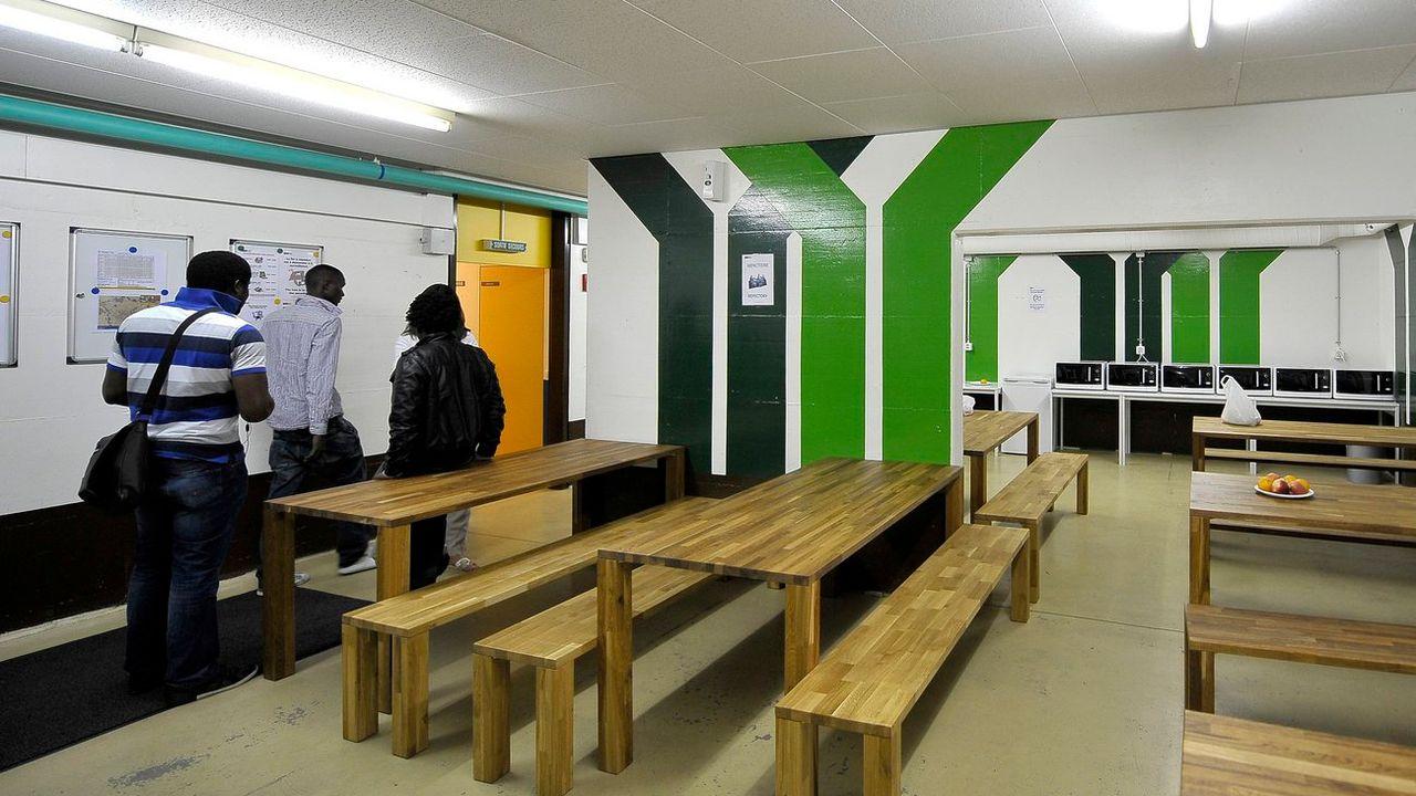 Le centre d'hébergement pour requérants d'asile déboutés des Perrerets, à Gland (VD) - (image d'illustration) [Dominic Favre - KEYSTONE]