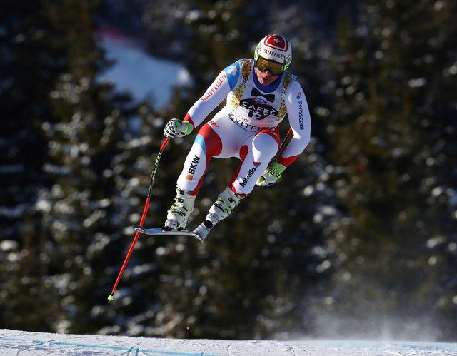 Champion du monde à St-Moritz, Beat Feuz s'est contenté du 7e rang en Norvège. [Alessandro Trovati - Keystone]