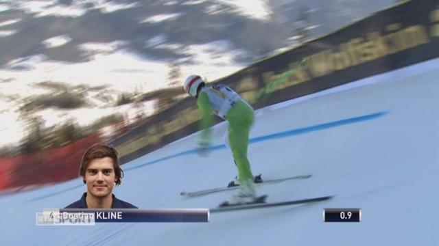 Descente messieurs: victoire de Bostjan Kline (SLO) [RTS]