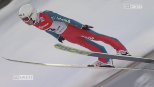 Mondiaux de Lahti (FIN): saut à ski, qualifications, petit tremplin, HS 100: Simon Ammann qualifié [RTS]