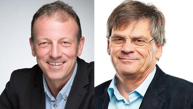 Didier Castella et Benoît Piller. [Facebook]