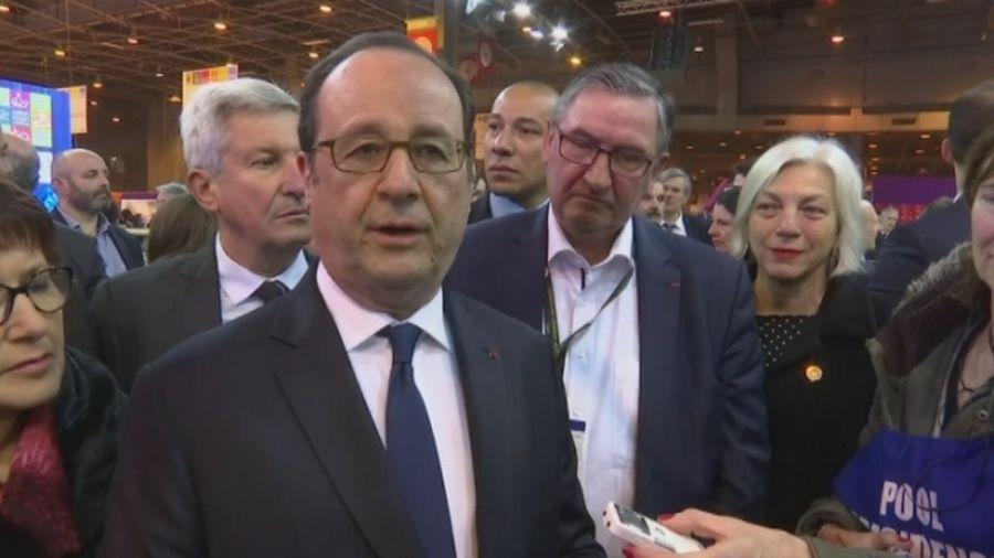 """François Hollande met en garde Donald Trump sur sa """"défiance"""" vis-à-vis de Paris"""