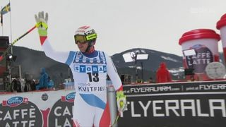Descente, Kvitfjell (NOR): Beat Feuz (SUI) [RTS]