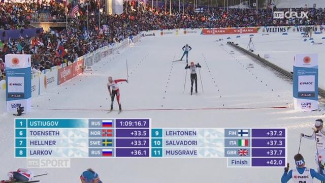 Mondiaux de Lathi (FIN), fond, skiathlon, 30km: 13e place pour le Suisse Baumann [RTS]