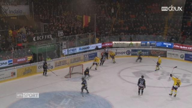 Hockey - LNA (50ème j.): Fribourg – Berne (4 - 7) [RTS]