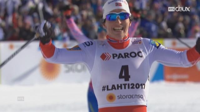 Ski nordique - Dames: le résumé de la course [RTS]