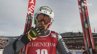 Super G, Kvitfjell (NOR): Peter Fill (ITA) [RTS]