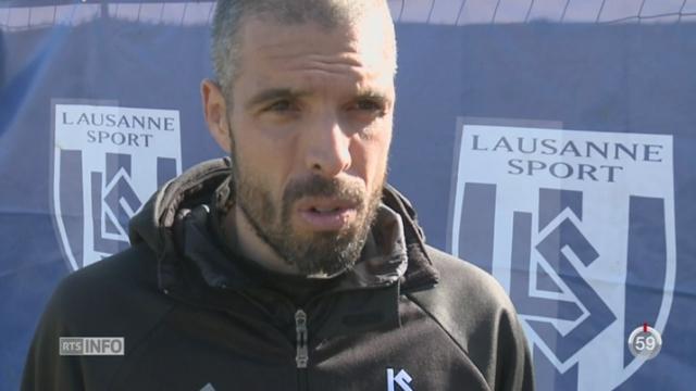 Football: Lausanne doit apprendre à mieux gérer ses fins de matchs [RTS]