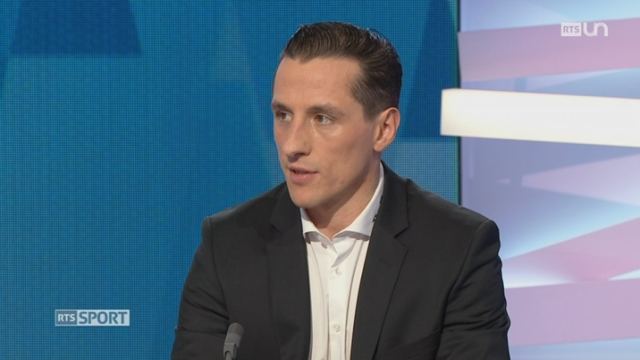 Hockey - Playoff LNA: entretien avec John Gobbi, capitaine et défenseur de Lausanne [RTS]
