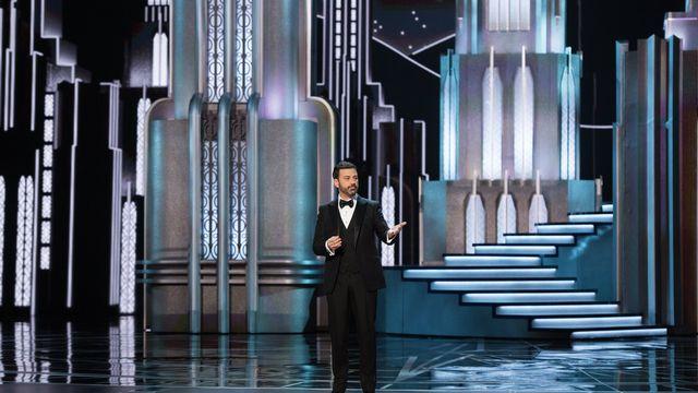 Jimmy Kimmel a fait quelques allusions à Donald Trump lors de la cérémonie des Oscars. [EPA/Aaron Poole - keystone]
