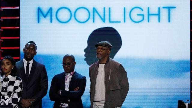 L'équipe du film Moonlight. [Mario Anzuoni - Reuters]