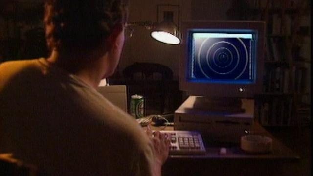Internet, une toile fascinante en 1996. [RTS]