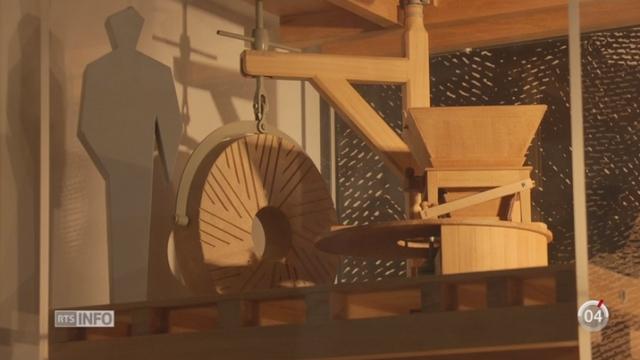 Minimag - NE: le moulin souterrain du Col-des-Roches était très productif au XVIIIe siècle [RTS]