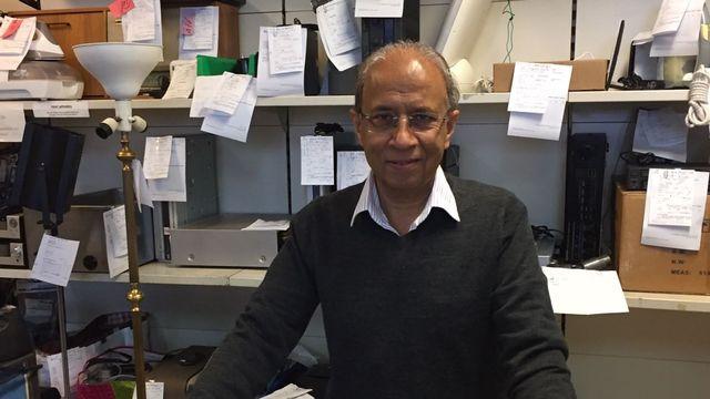 Qureshi Ghaffar, patron d'Ecotechnic. [Sylvie Belzer - RTS]