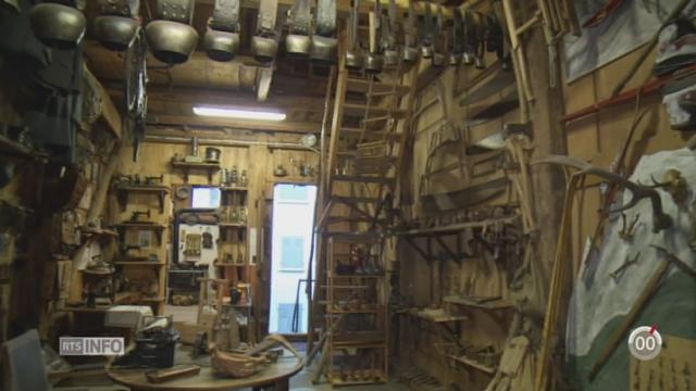 Minimag - VS: un musée familial abrite plus de 2000 objets du passé [RTS]